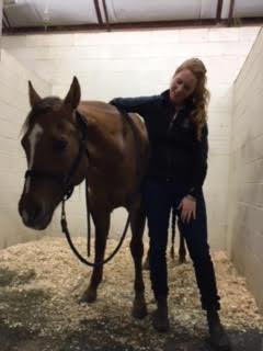 Sarah and Horse
